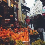 Snapshots of Shopping in Paris