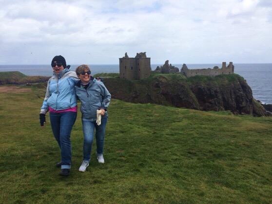 Stonehaven, Dunnottar Castle, Visiting Aberdeen
