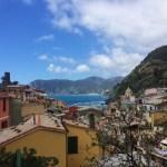 Snapshots of Vernazza, Italy