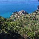 Snapshots of Corniglia, Italy