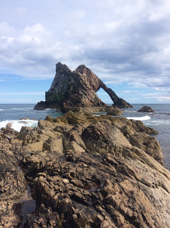 Bow Fiddle Rock, Day Trips from Aberdeen, Cullen, Scotland