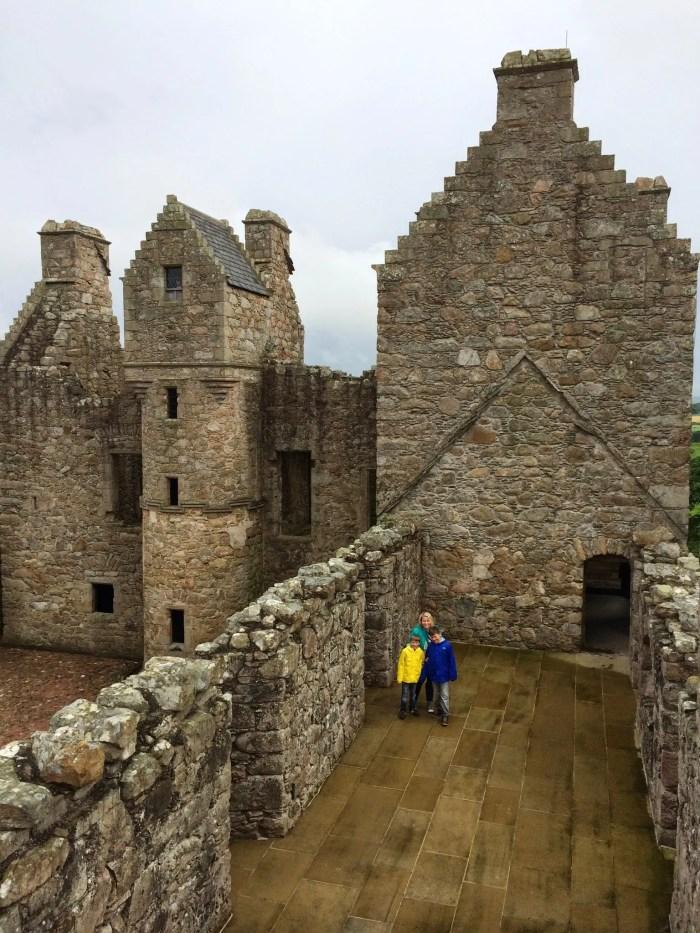 Tolquhon Castle, Scotland, Aberdeen