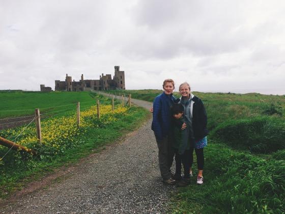 Aberdeen Castle Trail, New Slains, Cruden Bay, Scotland