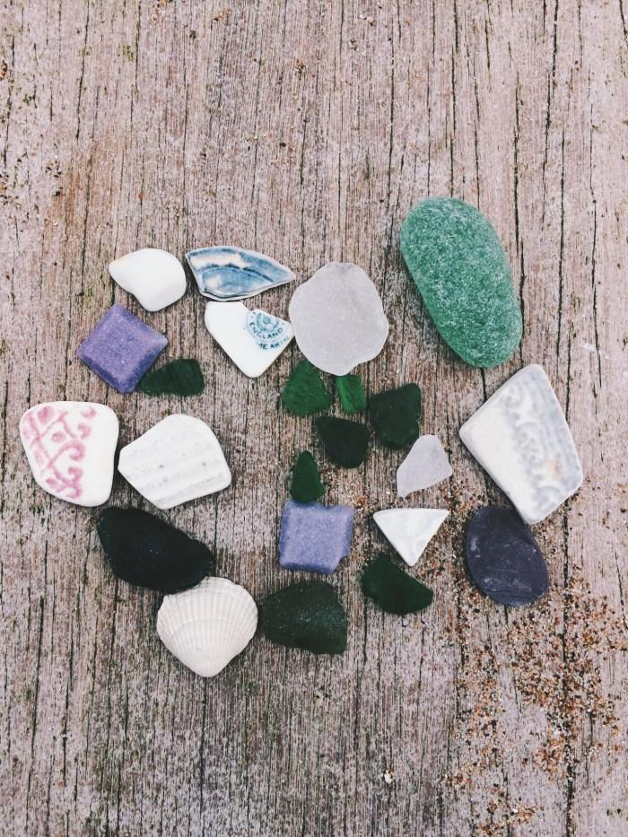 Aberdeen Beach, Scotland, Sea Glass