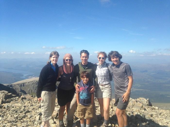 Climbing Ben Nevis Scotland