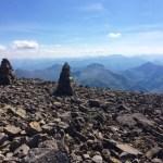 Climbing Ben Nevis in Scotland