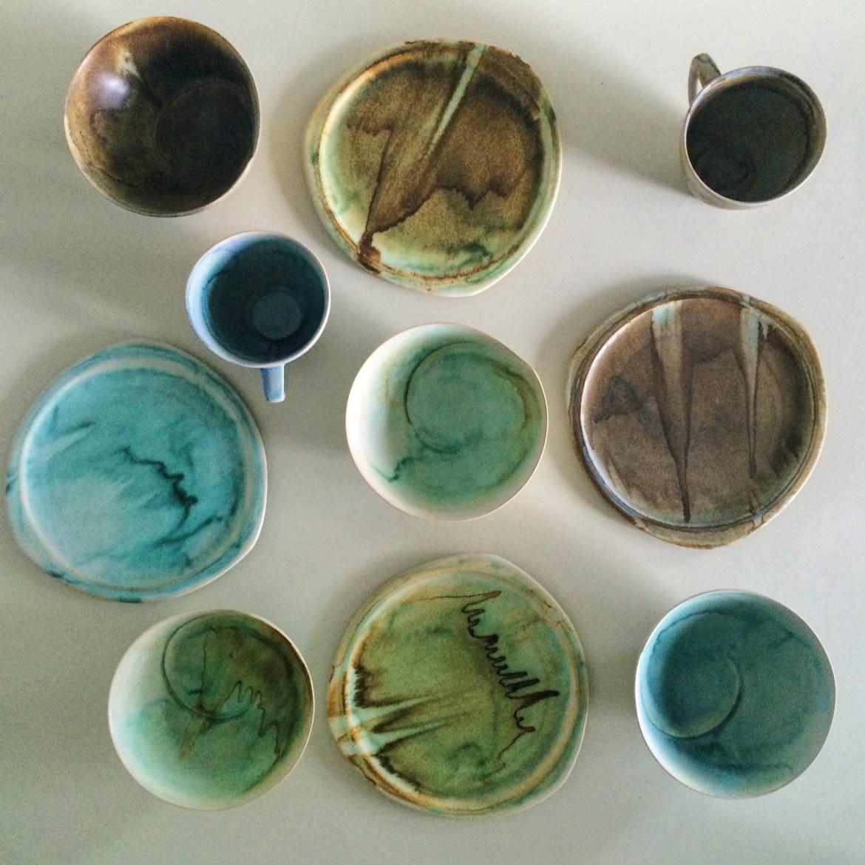 Snapshots of Tubingen, Germany, Deutschland, Pottery