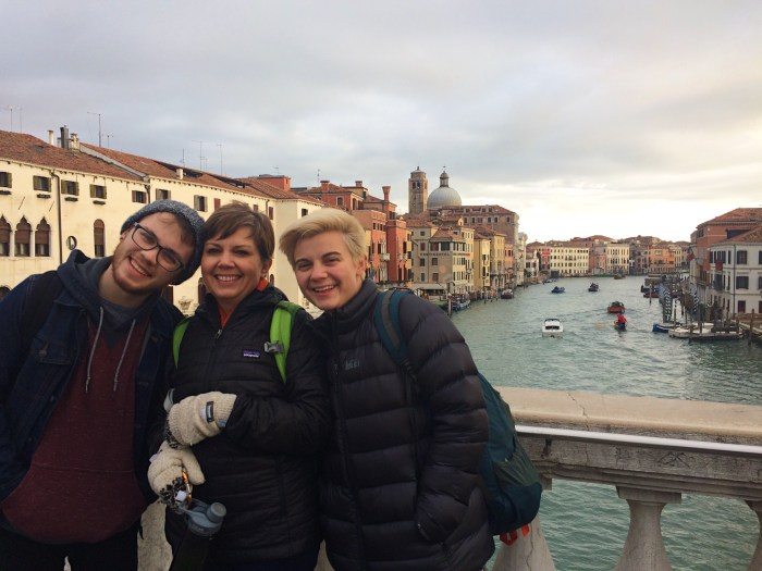 Christmas in Venice, Winter in Italy
