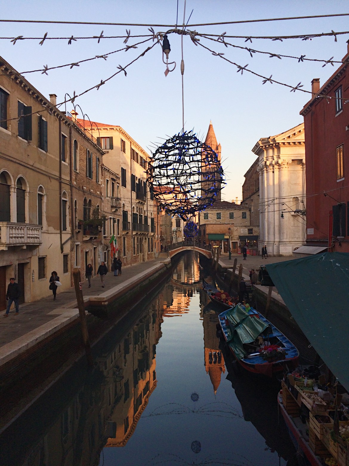 Venice at Christmas, Winter in Italy