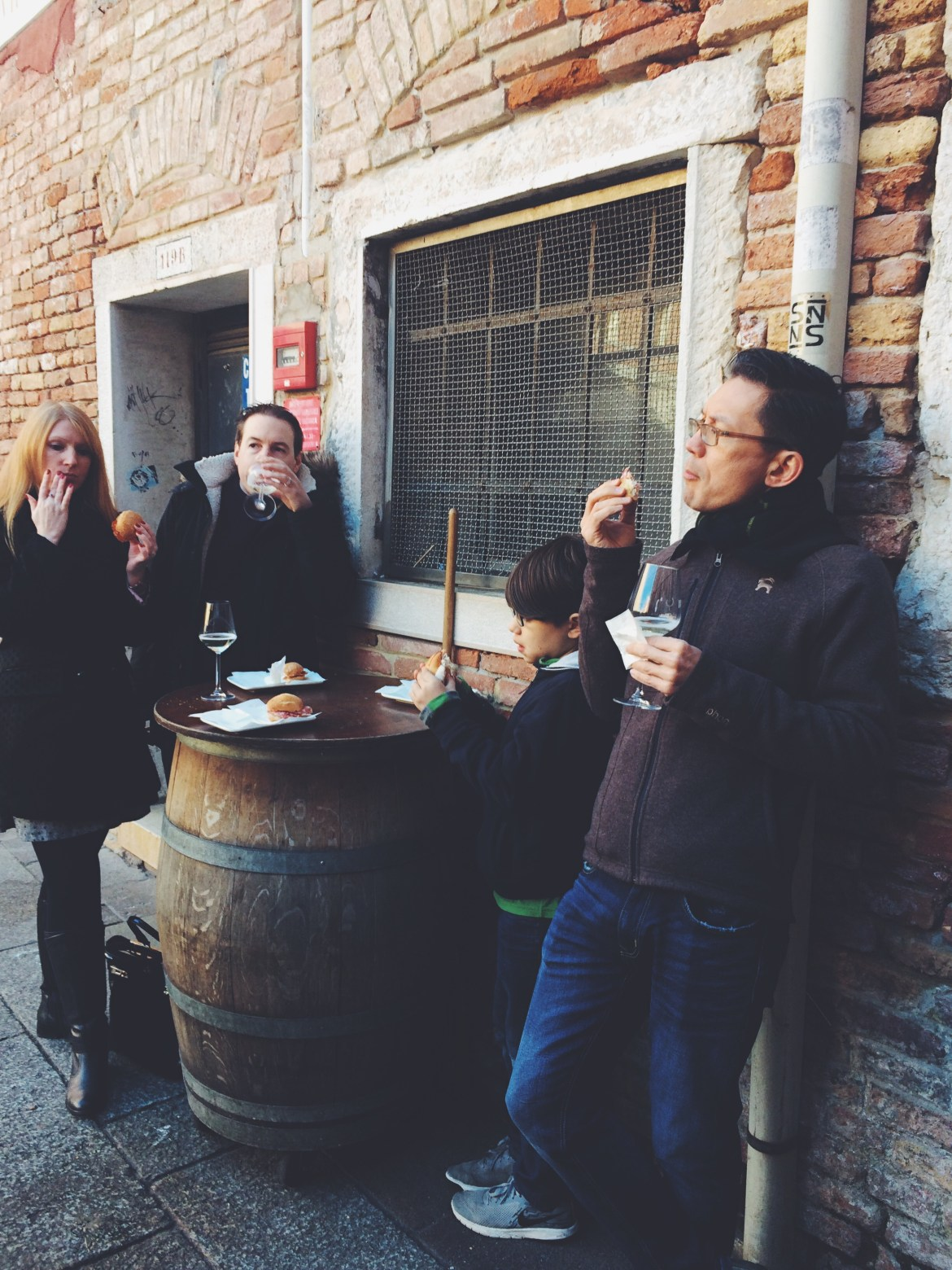 Walks of Italy Venice Food Tour, Eating in Venice