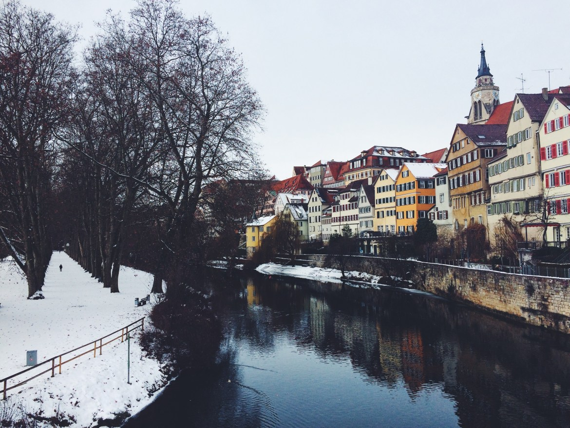 Winter Germany, Winter in Tübingen, Winter in Germany