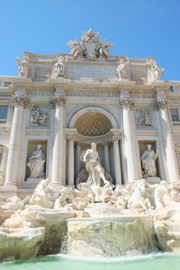 Rome, Italy, Trevi Fountain