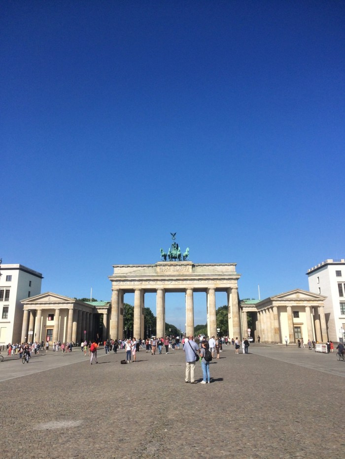 Snapshots of Berlin Brandonburg Gate