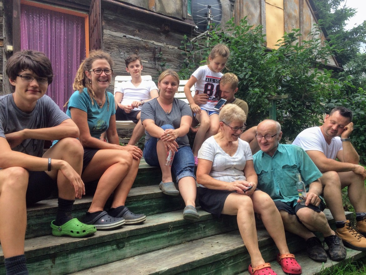 Wiktor's Family in Poland