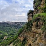 Snapshots of Civita di Bagnoregio, Italy