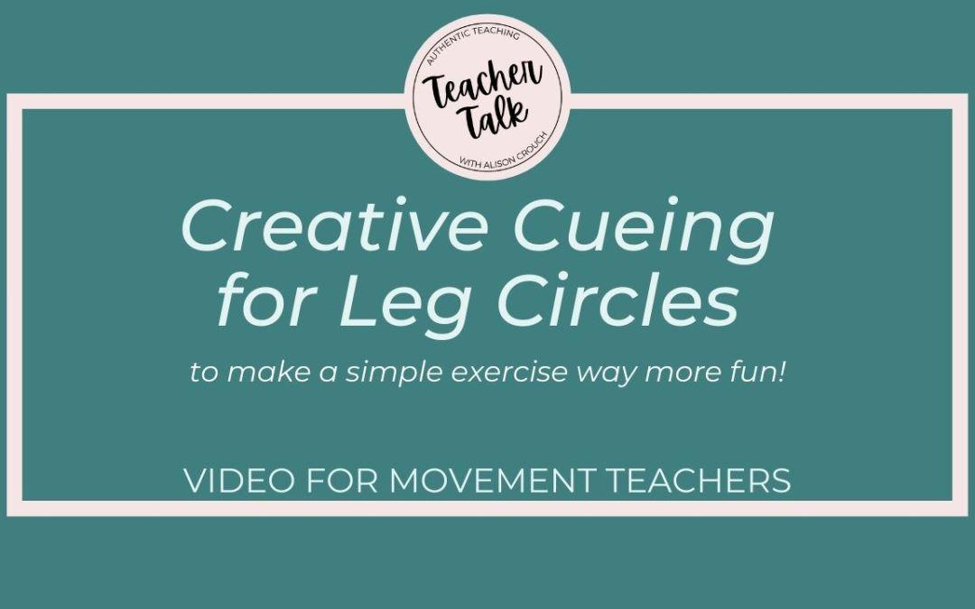 Pilates Teachers: make leg circles more effective!