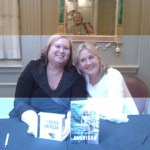 Alison Larkin at book signing