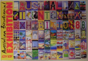 1988 touring quilt banners