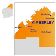 The Kimberley map