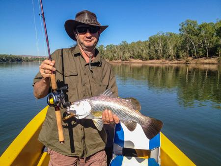Barra fishing
