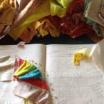 Colour palette of artist G blog