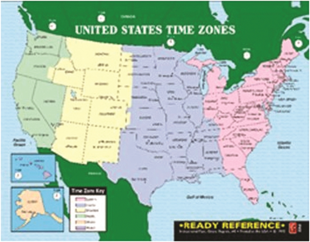 A new atlas gives a sense of what's truly happening in america. United States Time Zones Maps
