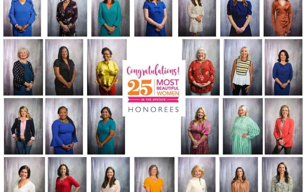 Talk Magazine: 25 Most Beautiful Women in the Upstate 2021 Honoree