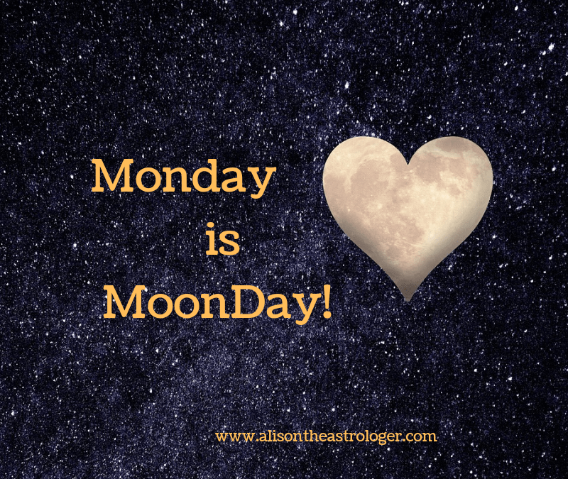 Monday & the day of the Moon. Think of today as imagination + empathy = inspired idea!