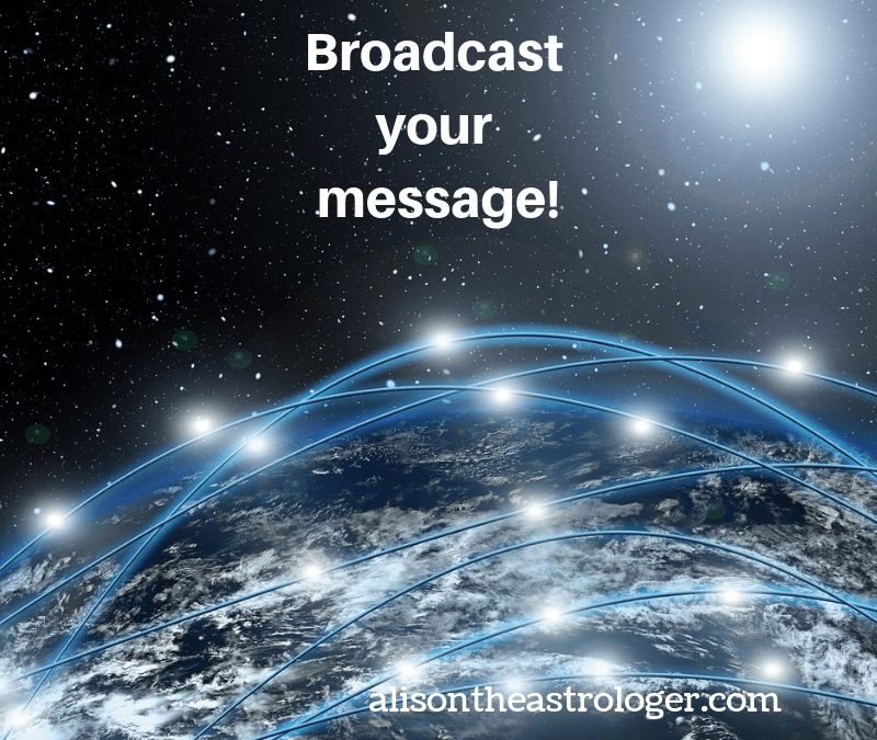 Wednesday and Mercury Day – network … connections … interactions … messages …