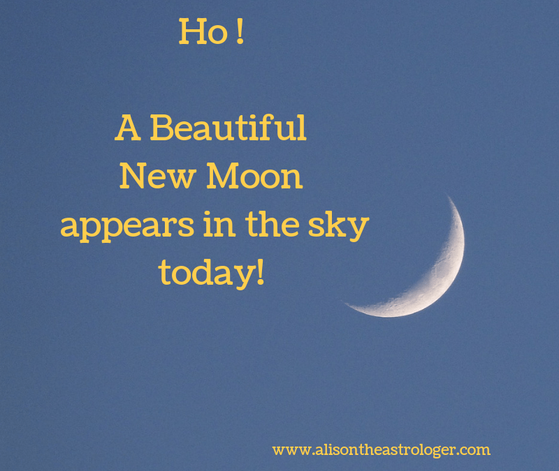 First New Moon after Solstice and it's glorious!