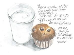 19May draw a cupcake