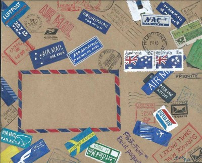 Airmail Parcel #1 100dpi
