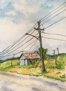 Power Lines - Ithaca, NE