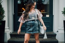 best leather skirts