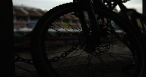 Un graded raw shot of a bike in Singapore