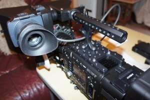 PMW-F and F55 top plate and Manhandle