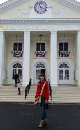 "A Literary Feast-- ""Stars Hollow"" town hall"