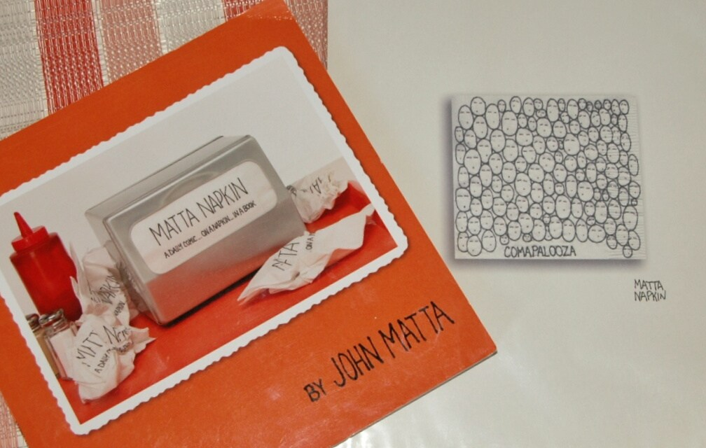 What's the Matta with that Napkin? — Book Review
