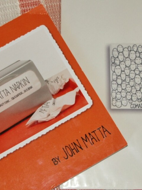 A Literary Feast -- Matta Napkin Book Review and Prize Giveaway | John Matta | Rose Abdoo | Gilmore Girls | Luke's Diner