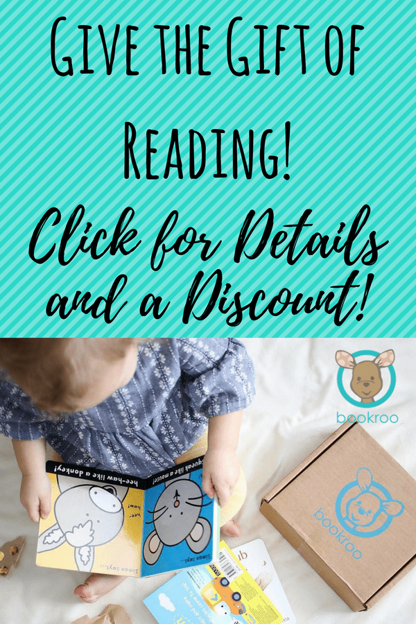 Bookroo book subscription box | discount coupon | children's books | raising readers | non toy gifts