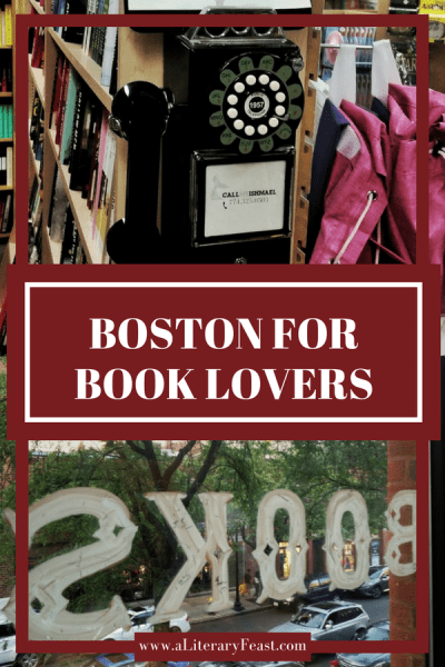 Trident Booksellers and Cafe | Back Bay | Newbury Street | Boston, MA | literary travel | from A Literary Feast | books and food