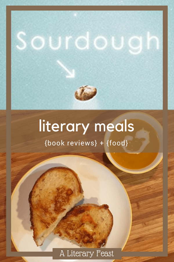 Book Review of Sourdough by Robin Sloan and Literary Meal   Hog Island Grilled Cheese Sandwich   #bookreviews #grilledcheese