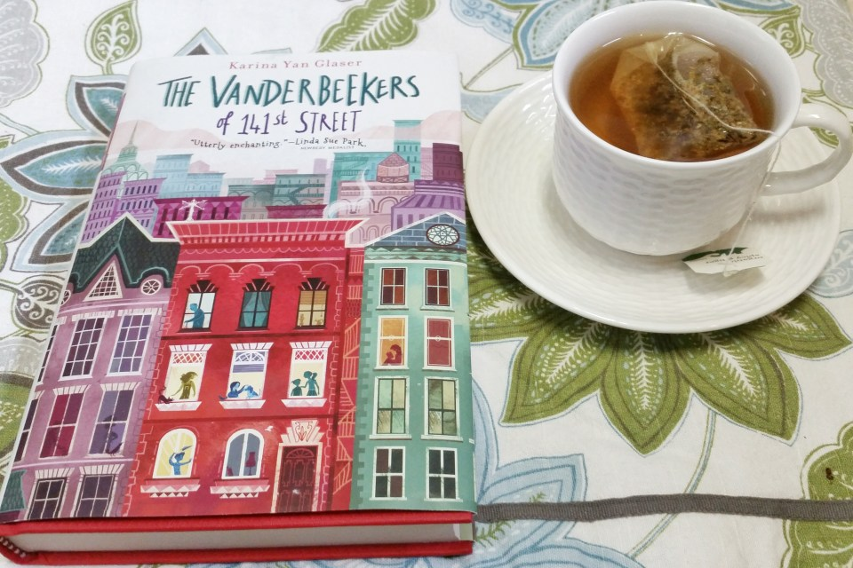 A Literary Feast | Book Review | The Vanderbeekers of 141st Street | jam thumbprint cookies | author interview | Reading guide | Texas Book Festival