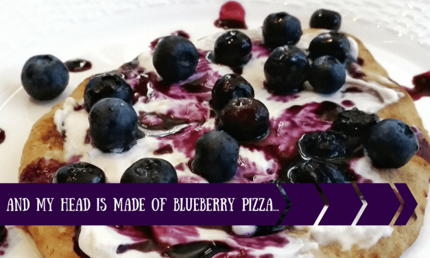 Blueberry Pizza– The Book with No Pictures