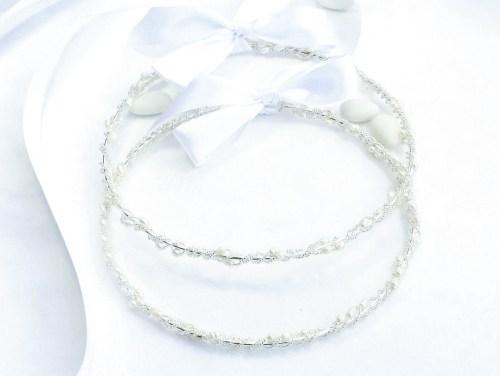 Pearl Wreath Stefana Wedding Crowns