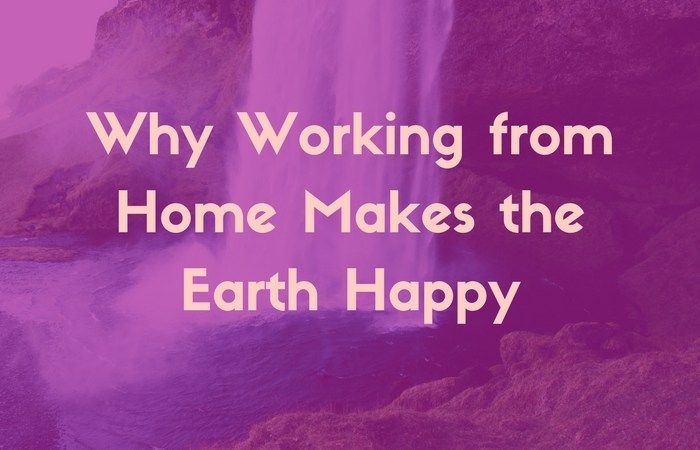 Why Working from Home Makes the Earth Happy
