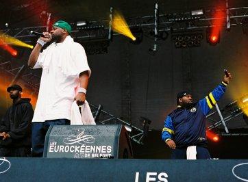 Wu Tang Clan in Concert