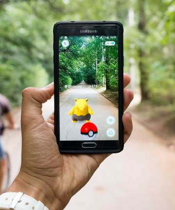 augmented reality game pokemon go