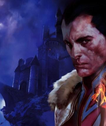 painting of vampire