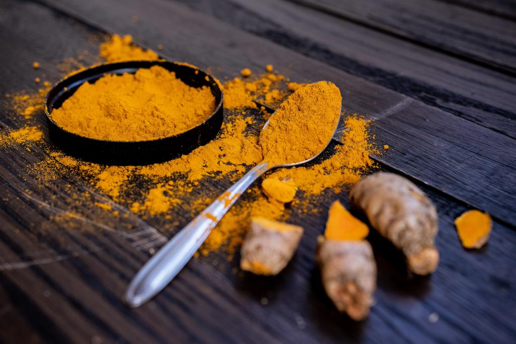 turmeric powdered and whole